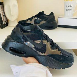 BEW Nike Air Max Fusion triple black shoes